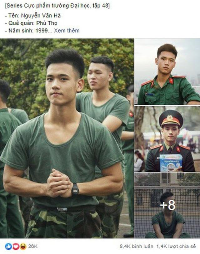 Nam sinh trường quân sự đẹp trai, nhiều tài lẻ - 1