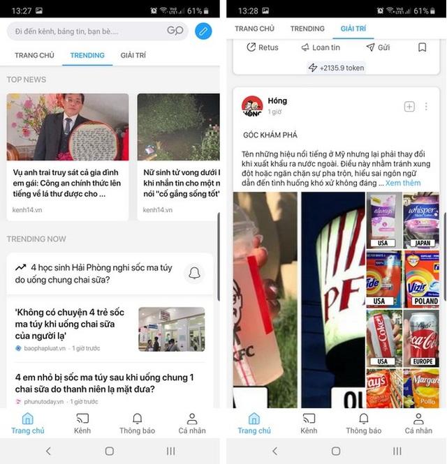 """Hướng dẫn cơ bản cách sử dụng mạng xã hội """"Made in Vietnam"""" Lotus - 5"""