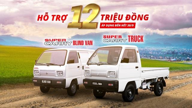 Suzuki Carry - Lựa chọn hợp lý cho xe vận chuyển hàng hóa trong đô thị - 3
