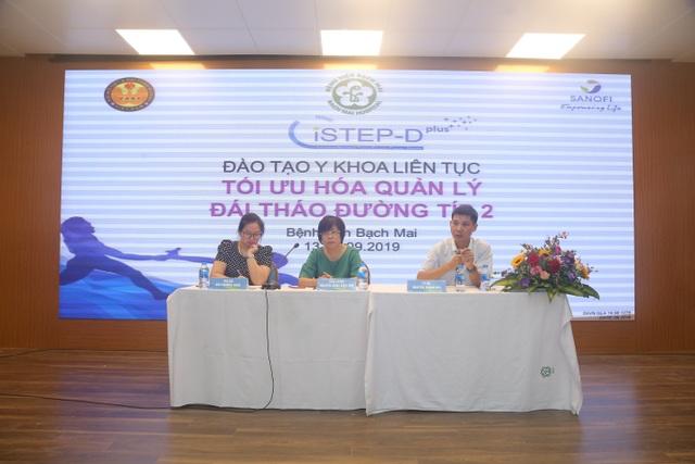 Tập huấn nâng cao điều trị đái tháo đường cho 50 bác sỹ nội tiết khu vực miền Bắc tại bệnh viện Bạch Mai - 2