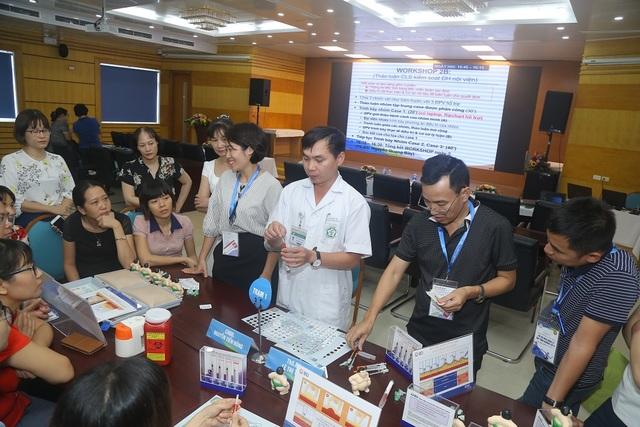 Tập huấn nâng cao điều trị đái tháo đường cho 50 bác sỹ nội tiết khu vực miền Bắc tại bệnh viện Bạch Mai - 3