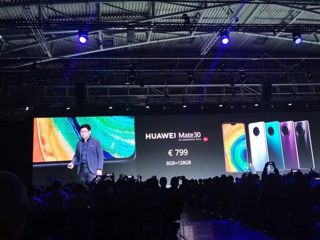 Huawei ra mắt Mate 30/30 Pro, cụm 4 camera, giá từ 20 triệu đồng - Ảnh minh hoạ 10