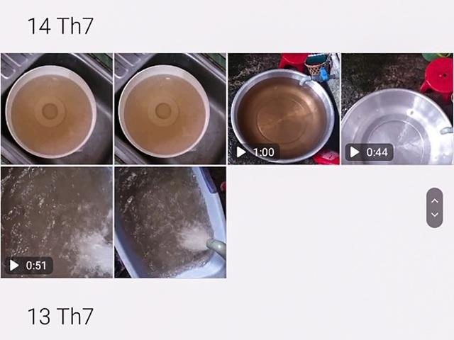 TP.HCM: Dân bức xúc vì nước sạch có màu cánh gián - 1