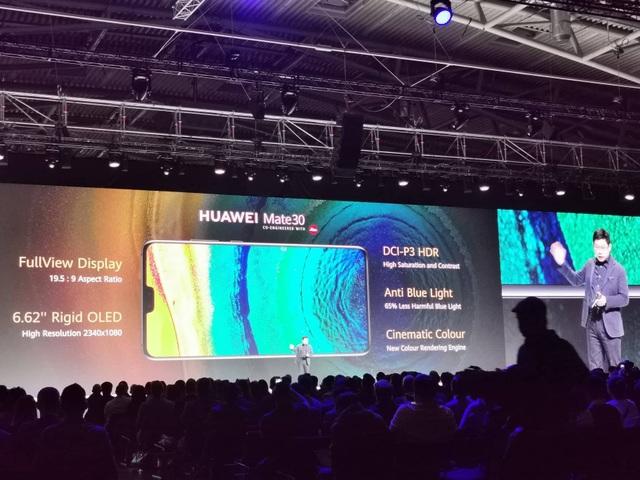 Huawei ra mắt Mate 30/30 Pro, cụm 4 camera, giá từ 20 triệu đồng - Ảnh minh hoạ 2
