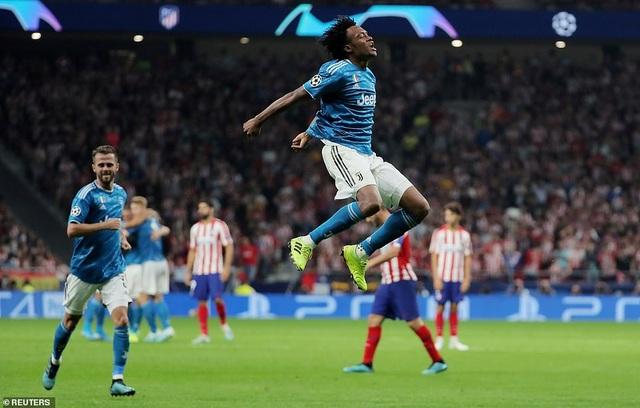 C.Ronaldo tịt ngòi, Juventus rơi điểm đáng tiếc trước Atletico Madrid - 2