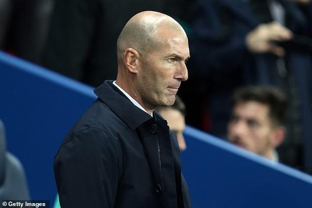 Real Madrid thua đậm PSG, HLV Zidane thừa nhận sự thật cay đắng - 1
