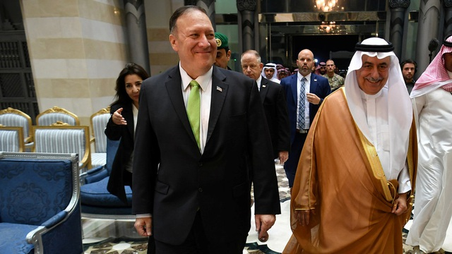 """Ngoại trưởng Mỹ cáo buộc Iran gây """"hành động chiến tranh"""" với Ả rập Xê út - 1"""