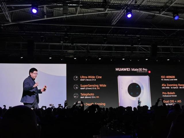 Huawei ra mắt Mate 30/30 Pro, cụm 4 camera, giá từ 20 triệu đồng - Ảnh minh hoạ 6