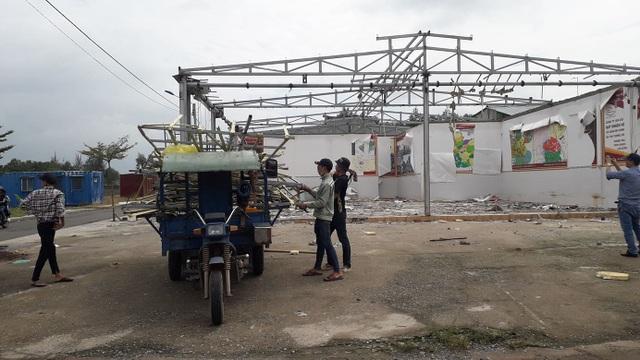 Địa ốc Alibaba thuê người tháo dỡ văn phòng xây dựng trái phép tại Đồng Nai - 3