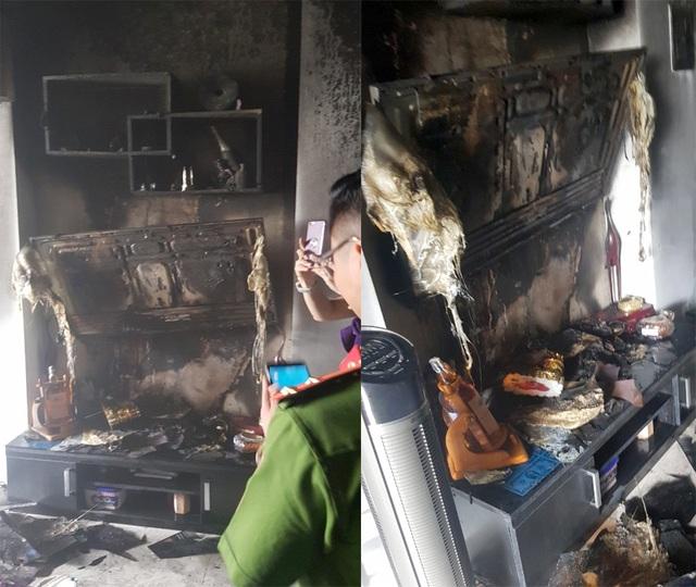 Cảnh sát giải cứu 3 người trong vụ cháy nhà 5 tầng ở Sài Gòn - 2