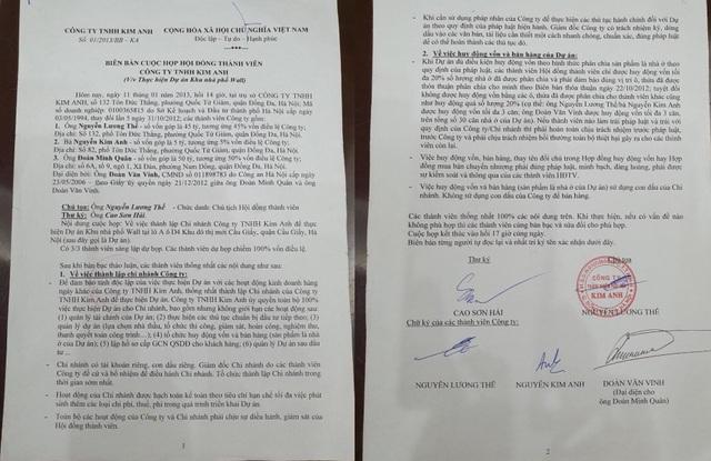 Vụ tranh chấp doanh nghiệp rúng động ở Hà Nội đã ngã ngũ - 2