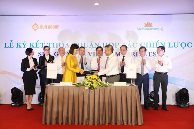 """Hàng không quốc gia """"bắt tay"""" với tập đoàn kinh tế tư nhân hàng đầu Việt Nam - 1"""