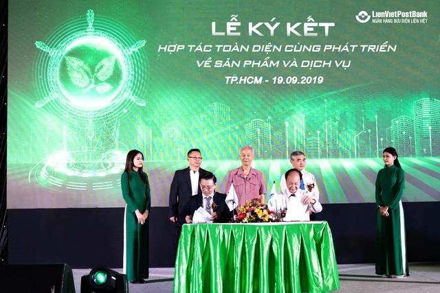 LienVietPostBank ký kết thỏa thuận hợp tác với Xelex - 1