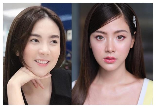 BTV Mai Ngọc VTV giống mỹ nhân phim Thái Chiếc lá cuốn bay - 8
