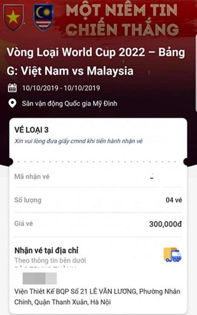 Tiết lộ bất ngờ về cách mua vé trận Việt Nam - Malaysia của một dân phe - 3