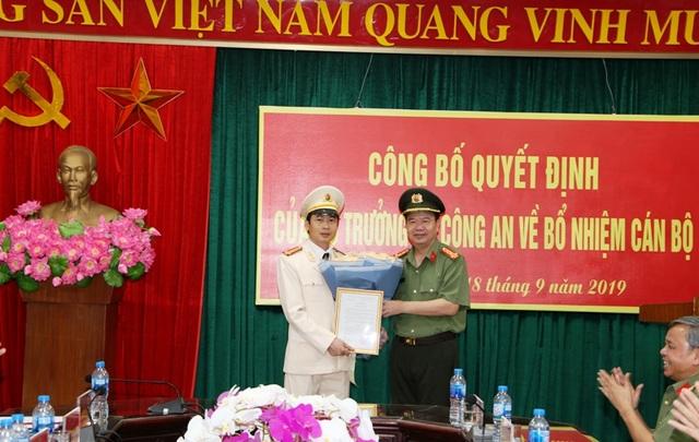 Công an Hà Nam có tân Phó giám đốc - 1