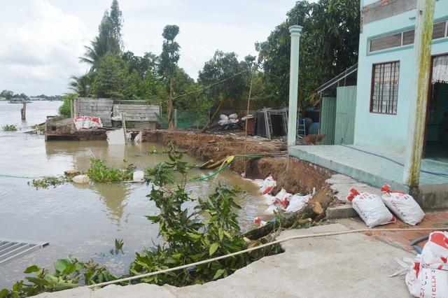 Hết bờ biển Tây, Cà Mau lại ban bố tình huống khẩn cấp sạt lở bờ biển Đông - 4