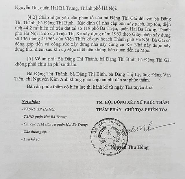 """Hà Nội: Phó chủ tịch quận ký văn bản khiến cụ bà 77 tuổi """"cạn nước mắt"""" xin cấp sổ đỏ - 3"""