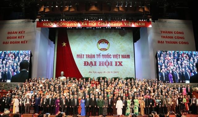Ông Trần Thanh Mẫn tiếp tục làm Chủ tịch UB Trung ương MTTQ Việt Nam khoá mới