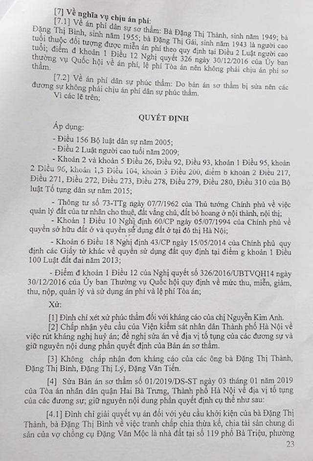 """Hà Nội: Phó chủ tịch quận ký văn bản khiến cụ bà 77 tuổi """"cạn nước mắt"""" xin cấp sổ đỏ - 2"""