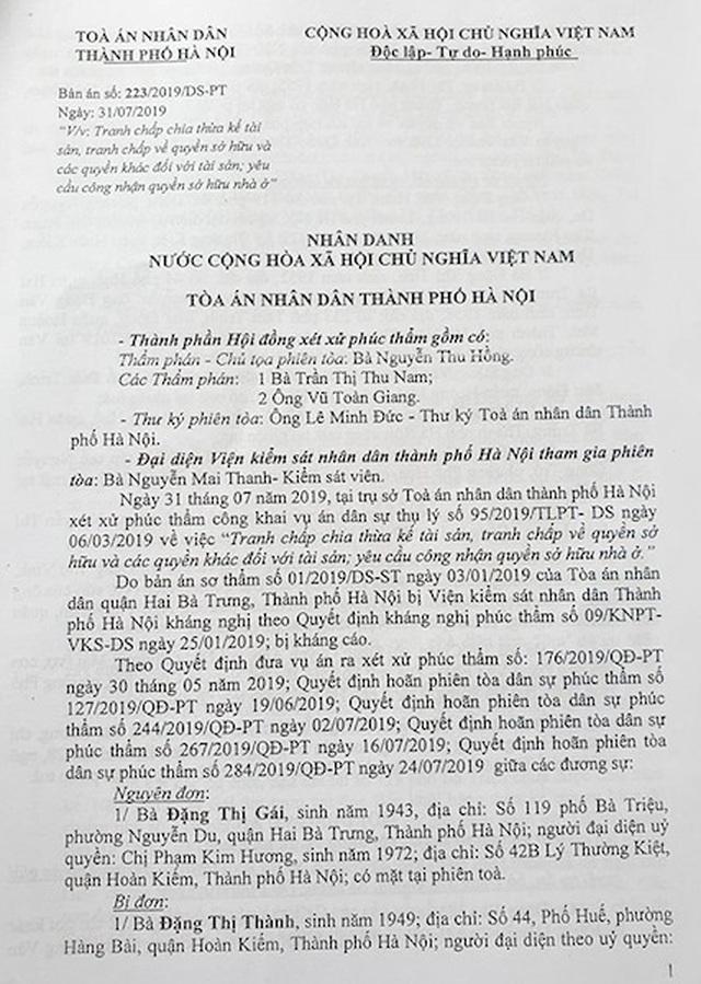 """Hà Nội: Phó chủ tịch quận ký văn bản khiến cụ bà 77 tuổi """"cạn nước mắt"""" xin cấp sổ đỏ - 1"""