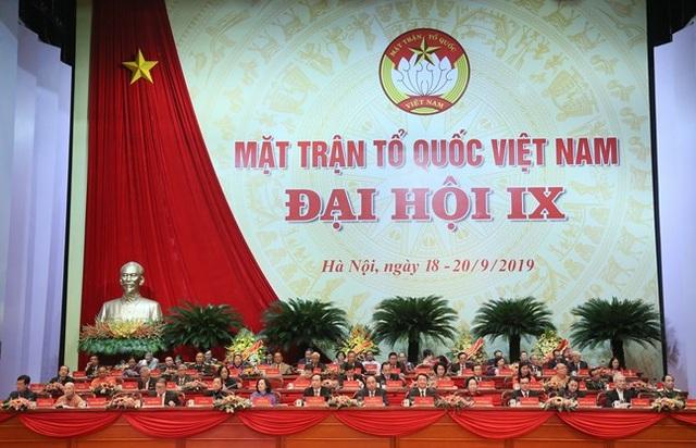 Công bố 62 Ủy viên Đoàn Chủ tịch UB Trung ương MTTQ Việt Nam khoá mới