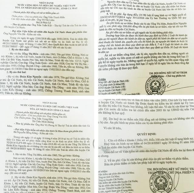 Cà Mau: Bị truy tố tham ô, nguyên kế toán Ủy ban thị trấn kêu oan! - 1
