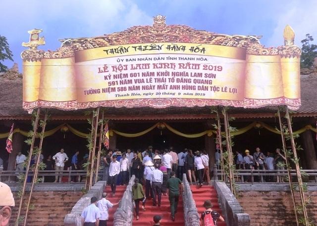 Hàng vạn người hướng về vùng đất thiêng Lam Kinh - Ảnh minh hoạ 4