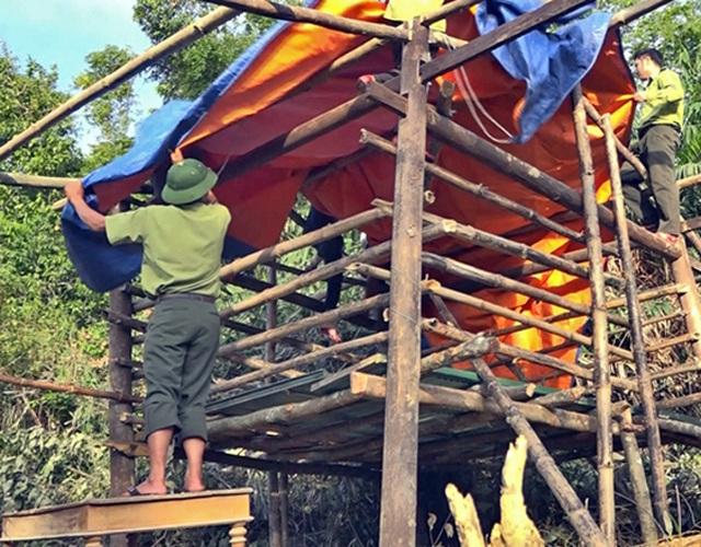 Bị nước lũ nhấn chìm, VQG Vũ Quang khẩn cấp kêu cứu - 4