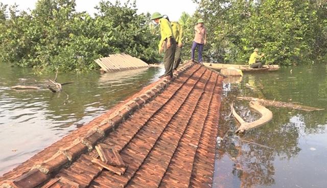 Bị nước lũ nhấn chìm, VQG Vũ Quang khẩn cấp kêu cứu - 2