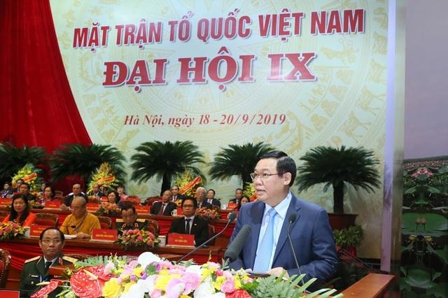 Ông Trần Thanh Mẫn tiếp tục làm Chủ tịch UB Trung ương MTTQ Việt Nam khoá mới - Ảnh minh hoạ 3