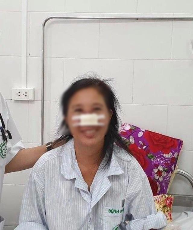 Bệnh nhân bị vi khuẩn Whitmore ăn mòn mũi điều trị  liên tục hơn 20 ngày - 2