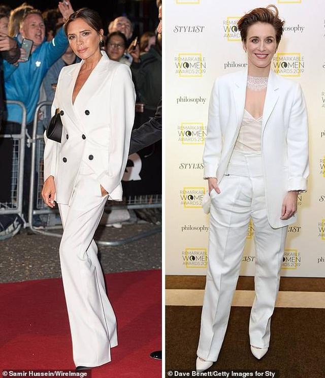"""Mốt thu đông năm nay là """"suit"""" trắng trẻ trung, thanh lịch - 3"""