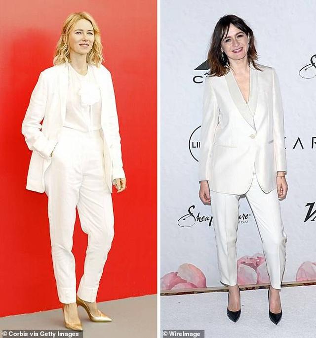 """Mốt thu đông năm nay là """"suit"""" trắng trẻ trung, thanh lịch - 4"""