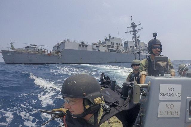 Mỹ - Trung ngày càng kình nhau trong diễn tập quân sự - 1