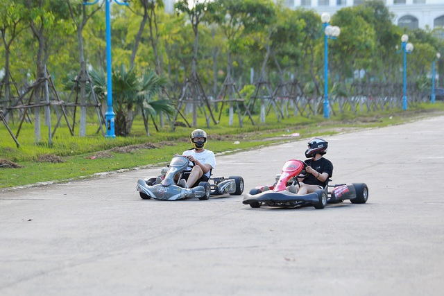 """Trải nghiệm đua xe F1 thu nhỏ"""" ngay tại Hà Nội - 13"""