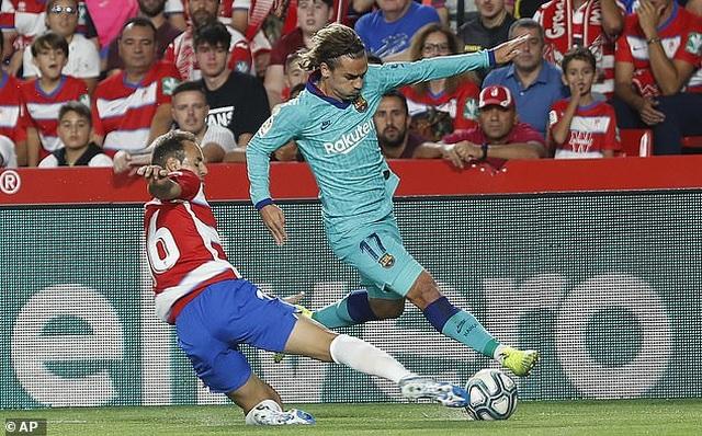 Barcelona thua sốc Granada trong ngày Messi tái xuất ở La Liga - 3