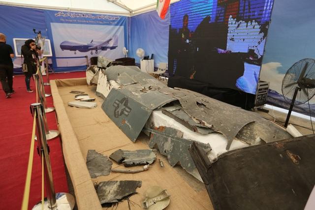 """Iran bất ngờ khoe dàn """"chiến lợi phẩm"""" máy bay không người lái của Mỹ - 2"""