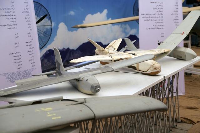 """Iran bất ngờ khoe dàn """"chiến lợi phẩm"""" máy bay không người lái của Mỹ - 5"""