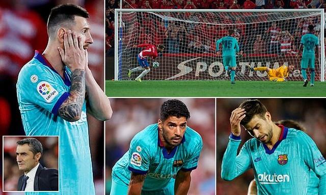 Barcelona thua sốc Granada trong ngày Messi tái xuất ở La Liga - 6
