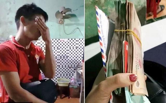 Chàng trai òa khóc khi được trả 200 triệu đồng bỏ quên trong quán ăn - 3