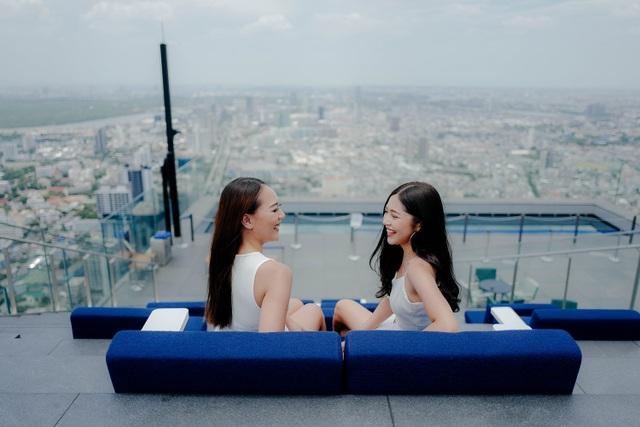 Nếu không sợ độ cao, đến Bangkok hãy thử tới sàn kính ở Mahanakhon Skywalk - 5