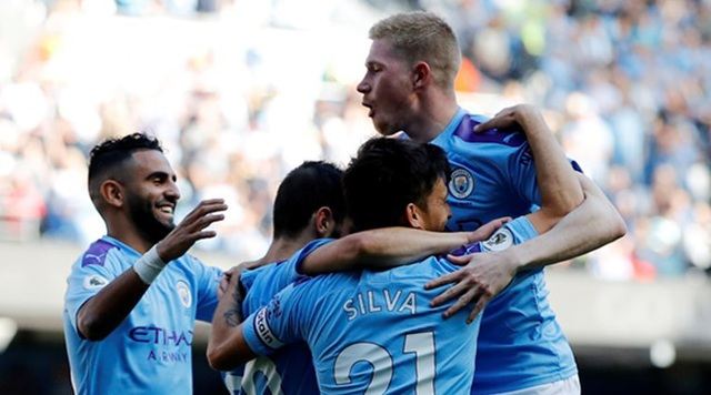 Man City thiết lập hàng loạt kỷ lục sau chiến thắng 8-0 - 1