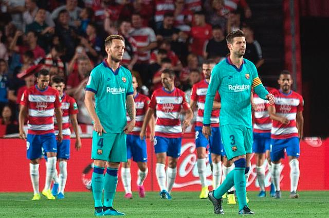 Barcelona thua sốc Granada trong ngày Messi tái xuất ở La Liga - 7