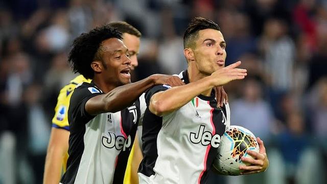 C.Ronaldo tỏa sáng, Juventus tìm lại mạch chiến thắng - 1
