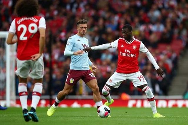 """Arsenal 3-2 Aston Villa: """"Pháo thủ"""" lội ngược dòng chỉ với 10 người - 4"""