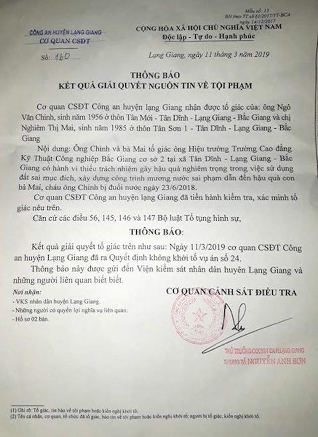 Diễn tiến nóng bỏng mở hy vọng đòi lẽ phải cho 3 cháu bé chết oan tại Bắc Giang! - 2