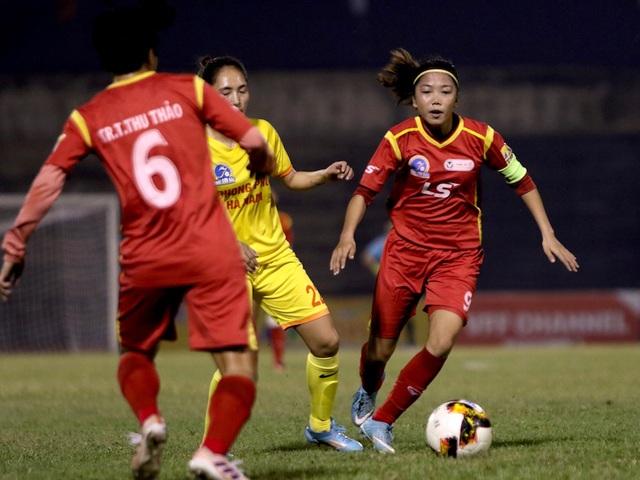 TPHCM giữ vững ngôi đầu giải bóng đá nữ vô địch quốc gia 2019 - 1