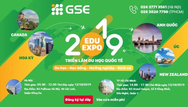 Lợi ích của việc tham gia Triển lãm du học quốc tế Edu Expo 2019 của GSE - 1