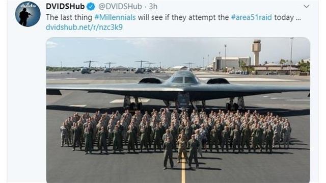 Quân đội Mỹ xin lỗi vì dọa dùng máy bay ném bom xua đuổi người dân ở khu tuyệt mật - 1